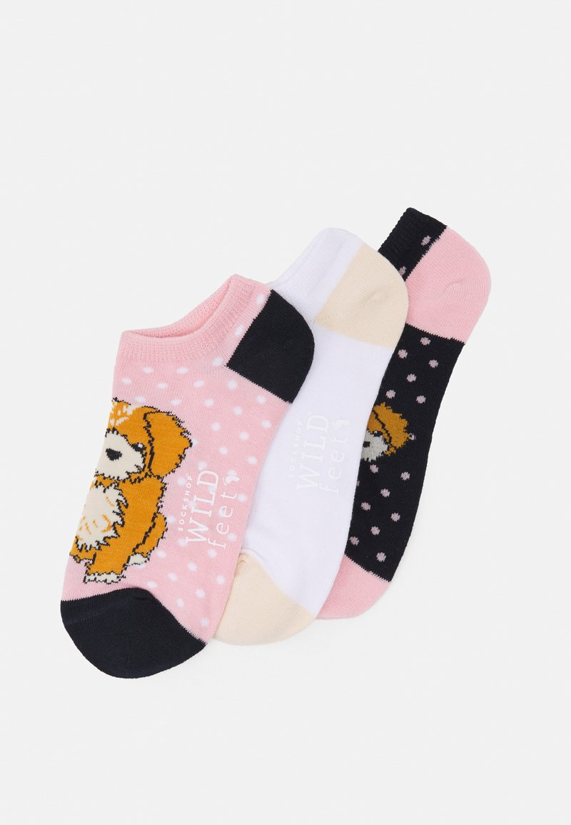 Wild Feet - DOG TRAINER SOCKS 3 PACK - Sokken - multicoloured