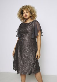 Swing Curve - Cocktail dress / Party dress - grey - 0
