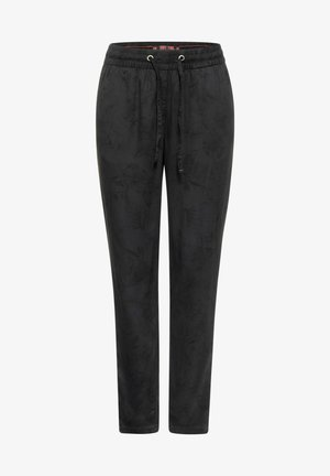 LOOSE FIT - Trousers - black