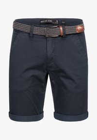 INDICODE JEANS - Shorts - navy - 4