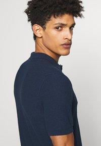 Roberto Collina - Polo shirt - navy - 3