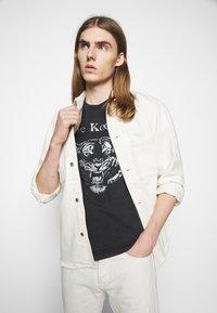 The Kooples - OUTERWEAR - Denim jacket - off white - 3