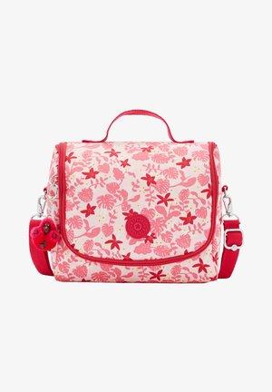 NEW KICHIROU - Across body bag - pink leaves