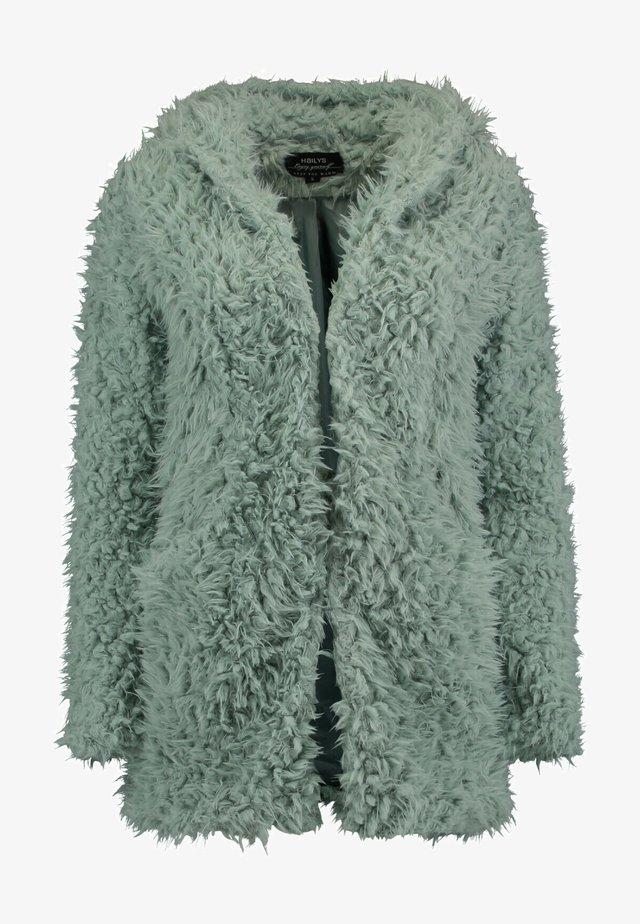 Winter jacket - jade