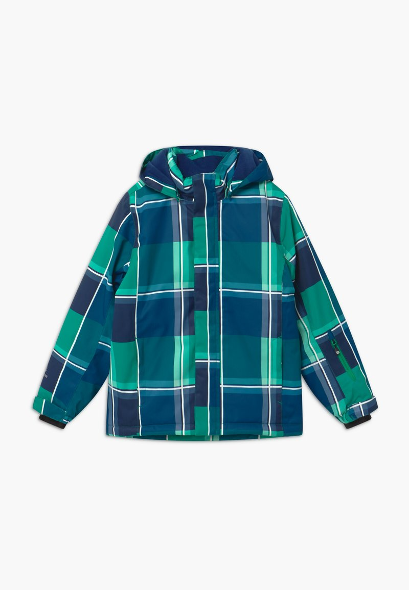 Color Kids - Snowboardová bunda - golf green