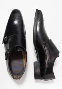 Giorgio 1958 - Elegantní nazouvací boty - black - 1