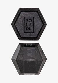 Solidu - SOAP PURITY. - Saponetta - black - 0