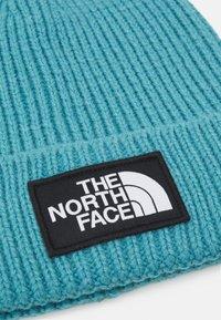 The North Face - SHORT LOGO BOX CUFFED BEANIE - Beanie - storm blue - 2