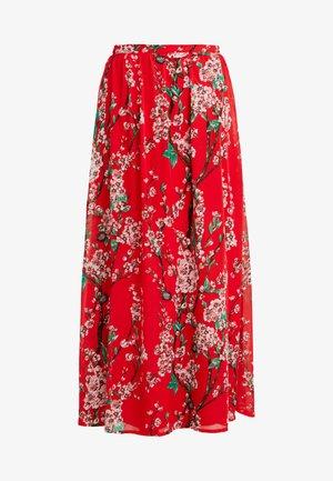 VIESME MAXI SKIRT - Spódnica trapezowa - flame scarlet