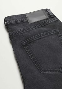 Mango - Jeans Tapered Fit - black denim - 7