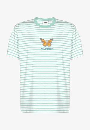 FISHER - T-Shirt print - tranquilty blue multi