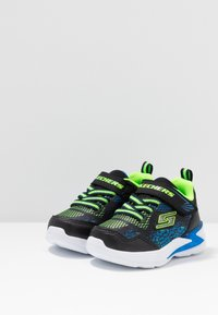 Skechers - ERUPTERS - Zapatillas - black/blue/lime - 2