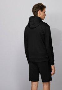 BOSS - SAGGY BATCH Z - Zip-up sweatshirt - black - 2