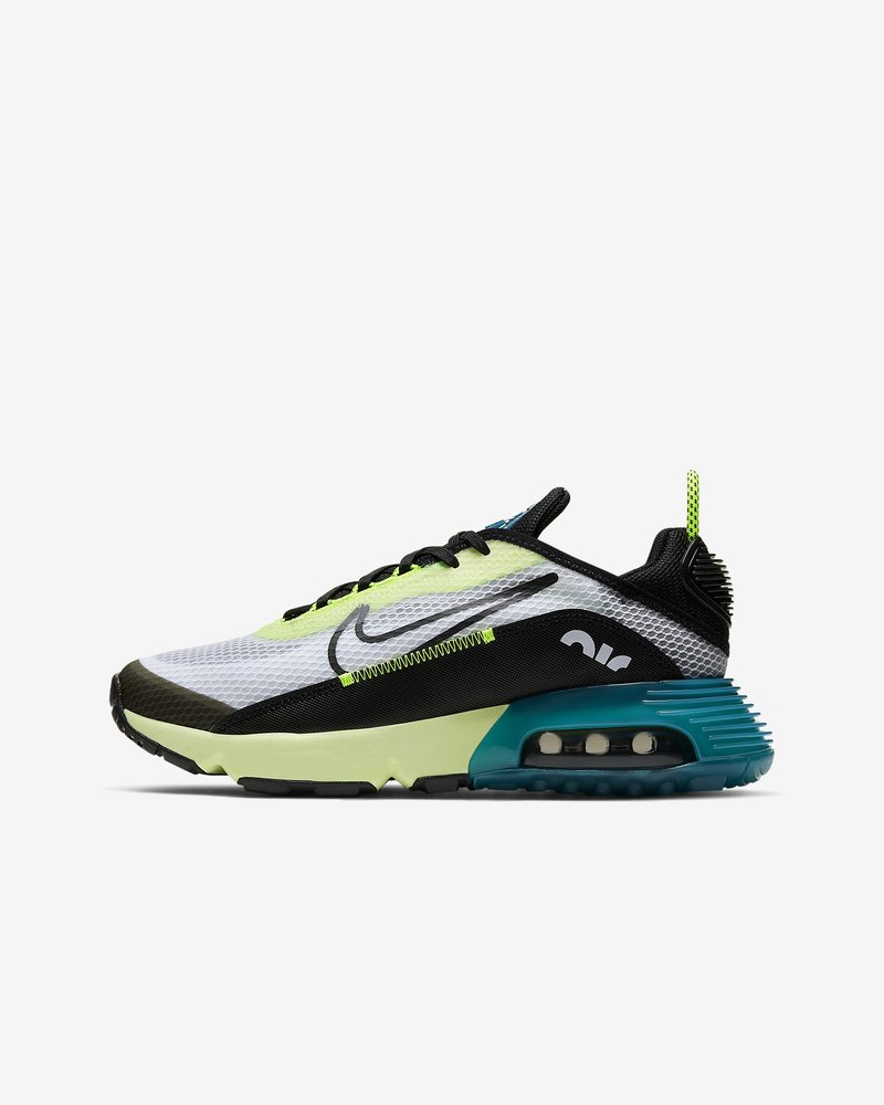 Nike Sportswear - AIR MAX 2090 - Zapatillas - white/black-volt-blue force