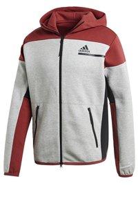 adidas Performance - Zip-up hoodie - grey - 8
