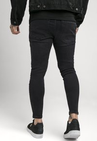 SIKSILK - PAINT SPLATTER RIPPED KNEE  - Jeans Skinny Fit - washed grey - 2
