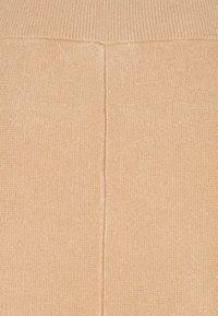 Vero Moda Tall - VMFRESNO CALF SKIRT - A-line skirt - tan - 2
