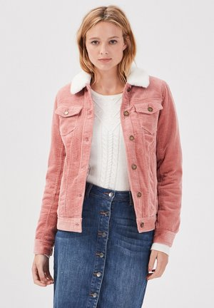 GERADE AUS CORD - Summer jacket - vieux rose