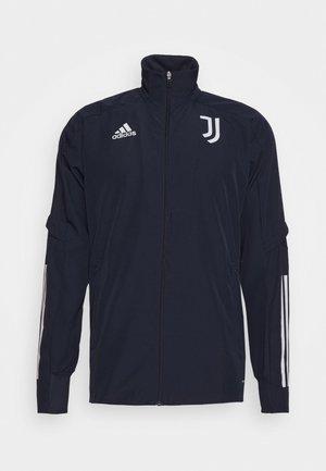 JUVENTUS SPORTS FOOTBALL TRACKSUIT JACKET - Club wear - legink/orbgrey