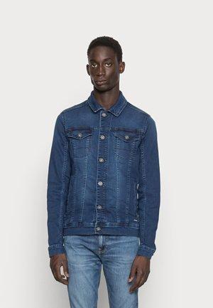 DENIM JOGG JACKET - Denim jacket - denim middle blue
