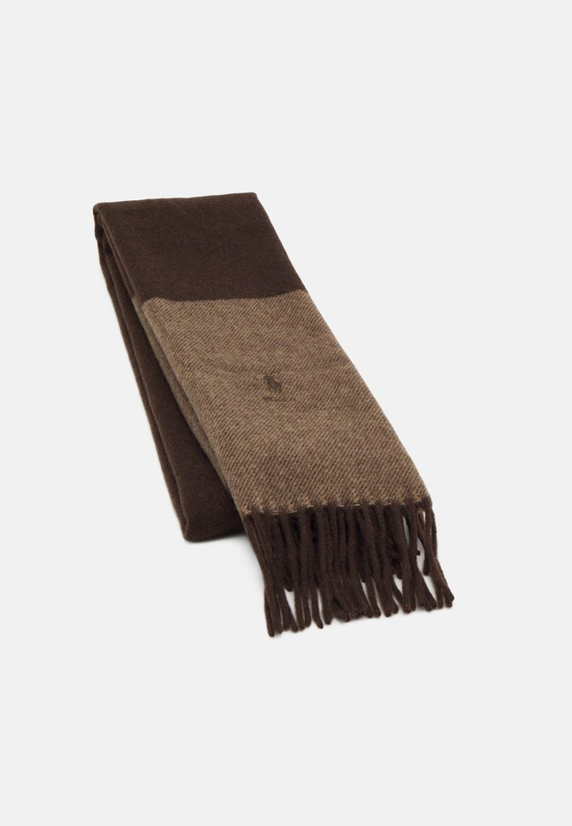 Scarf - chocolate brown