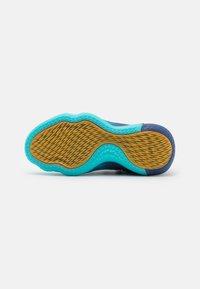 adidas Performance - DAME 7 EXTPLY BASKETBALL LILLARD LIGHTSTRIKE SHOES MID - Basketball shoes - blue - 4