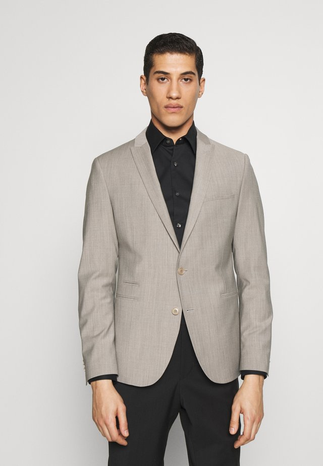 IRVING - Veste de costume - beige grau