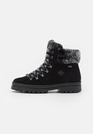 Snowboots  - schwarz/anthrazit