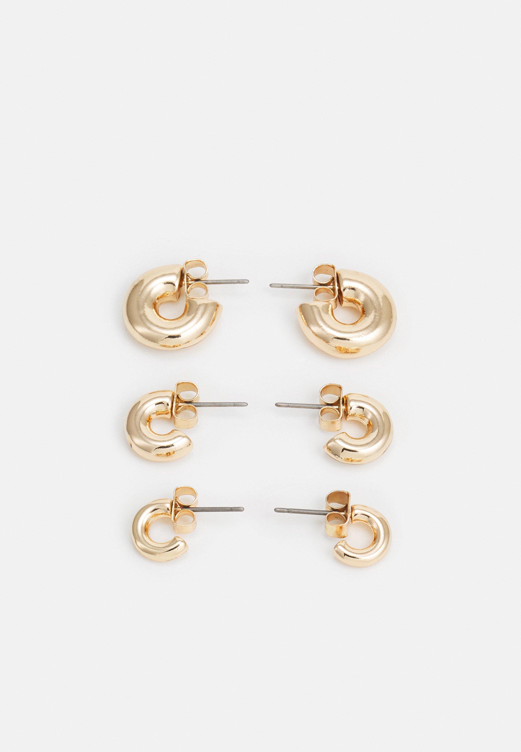 Women BOLD HOOP 3 PACK - Earrings