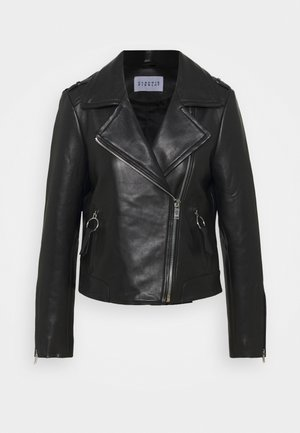 CHARMY - Leather jacket - noir
