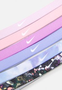 Nike Performance - PRINTED HEADBANDS 6 PACK - Andre accessories - light thistle/white/iced lilac - 3