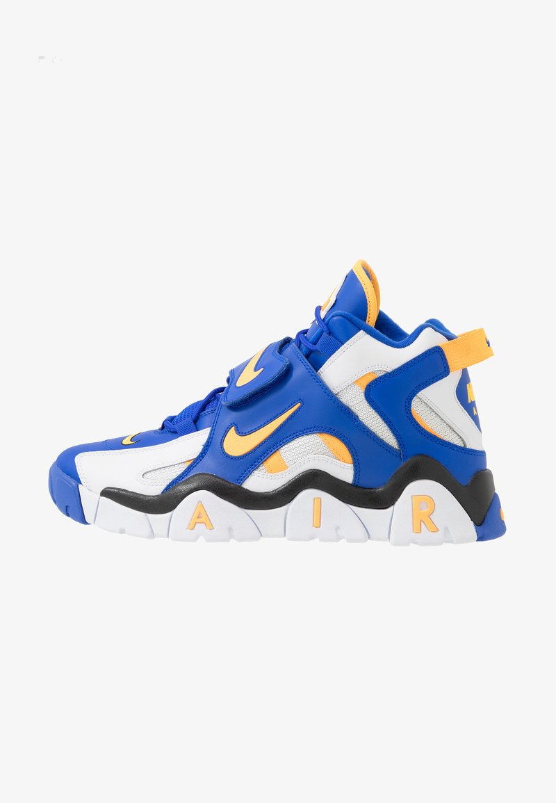 Nike Sportswear - AIR BARRAGE MID - Baskets montantes - white/laser orange/racer blue/black