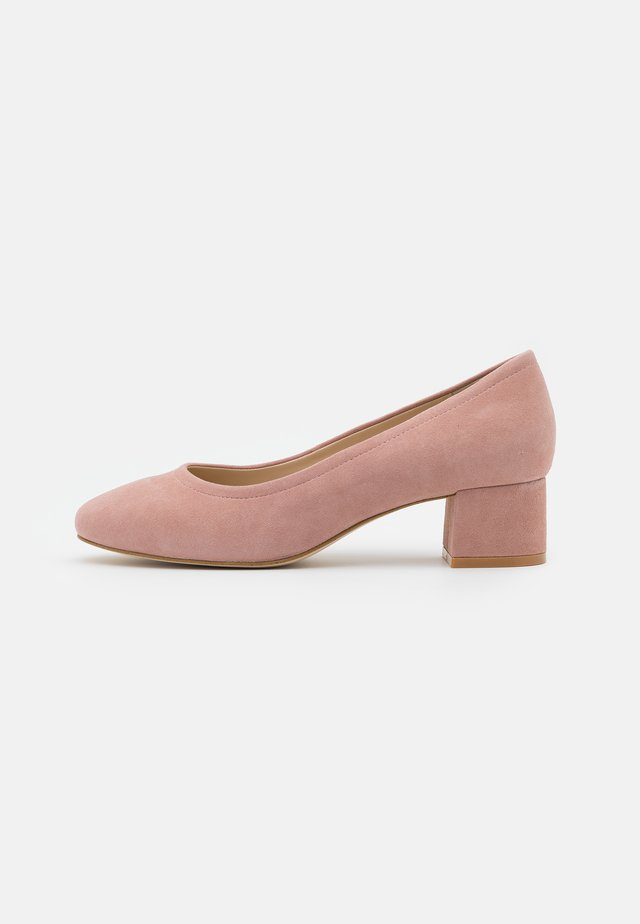 LEATHER COMFORT - Classic heels - pink