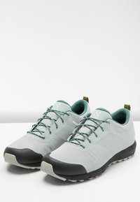 Haglöfs - L.I.M LOW PROOF ECO - Trail running shoes - stone grey/willow green - 3