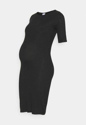 MLSANNY DRESS - Jersey dress - black