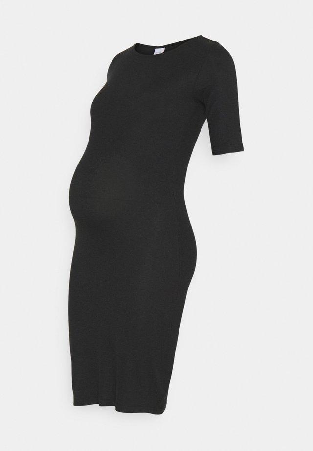 MLSANNY DRESS - Jerseykjoler - black