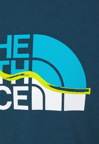 The North Face - MOUNTAIN LINE TEE - T-shirt con stampa - monterey blue - 5
