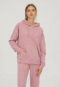 PULL&BEAR - Hoodie - mottled pink - 0