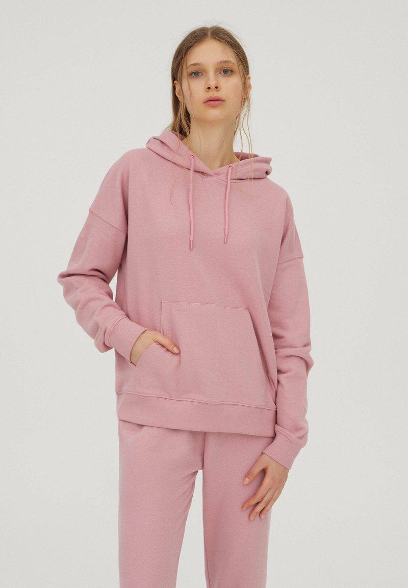 PULL&BEAR - Hoodie - mottled pink