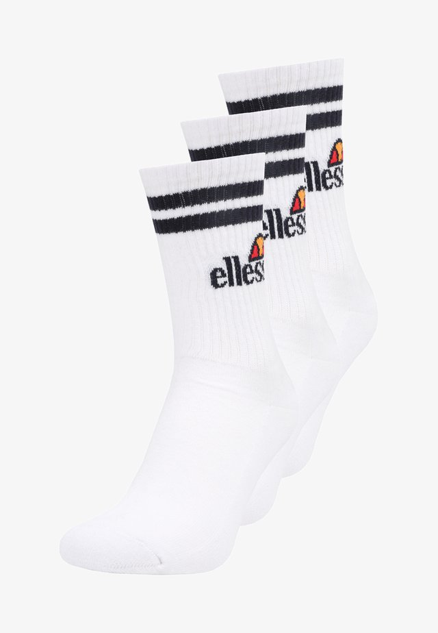 PULLO 3 PACK - Ponožky - white