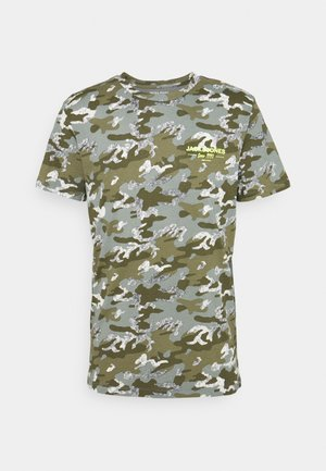 JJSOLDIER TEE CREW NECK - T-shirt z nadrukiem - sedona sage