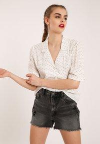 Pimkie - Button-down blouse - white - 3