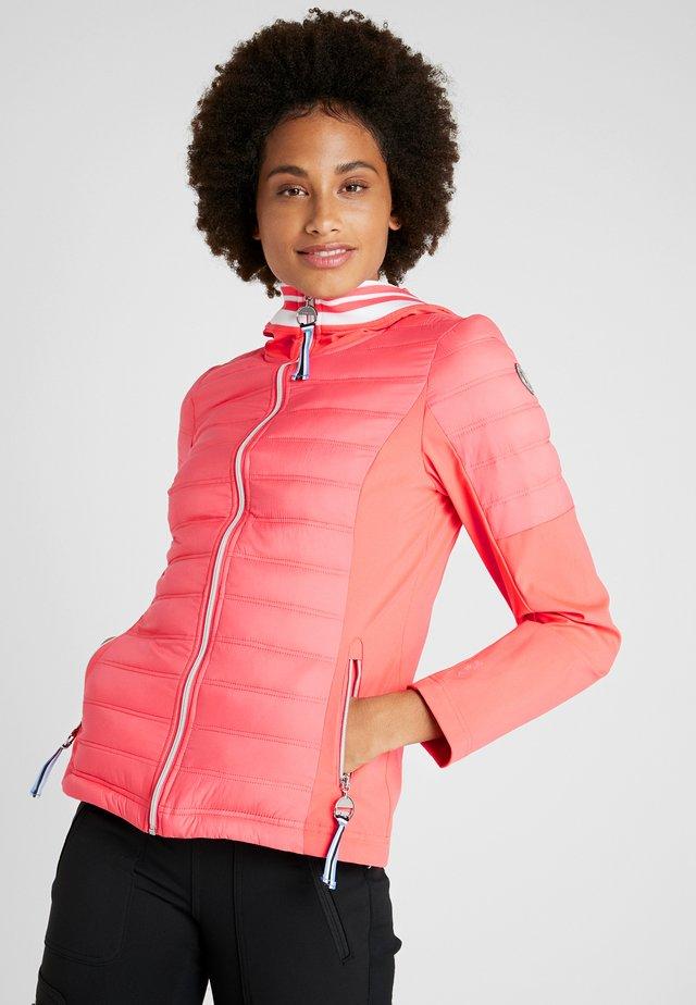ANE - Softshellová bunda - hot pink