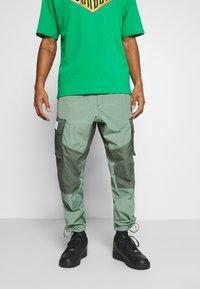 Jordan - PANT - Trousers - spiral sage/white - 0