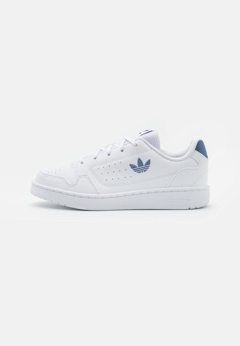 adidas Originals - NY 90 UNISEX - Trainers - footwear white/blue