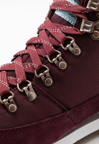 The North Face - REDUX - Hikingschuh - deep garnet red/stratosphere blue - 5