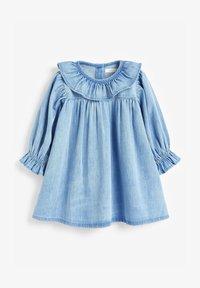 Next - Denim dress - blue denim - 0