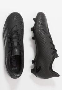 adidas Performance - PREDATOR 20.4 FXG - Voetbalschoenen met kunststof noppen - core black/dough solid grey - 1