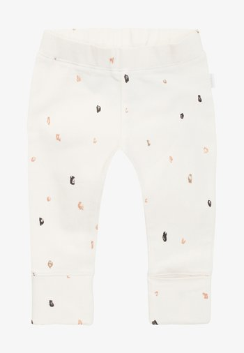 Tracksuit bottoms - white sand