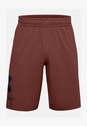 Sports shorts - cinna red